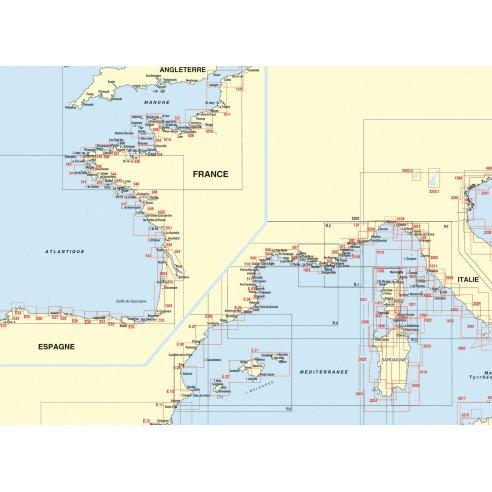 Cartes marines - Espagne Méditerranée